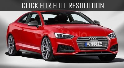 Audi RS5 power of 450 HP was debuted at the Geneva Auto Show