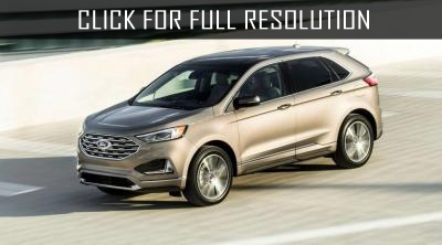 Ford presented Edge crossover in Titanium Elite version