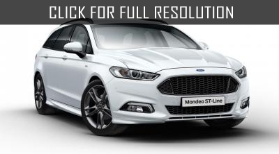 Ford presents 325 HP Mondeo ST in Geneva