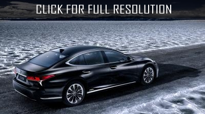 Appeared information about the specifications of Lexus LS 500h