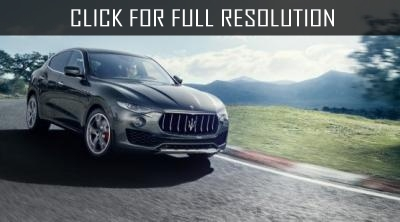Crossover Maserati Levante can get a charged version