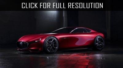 In 2019 Mazda will present a coupe based on the R X-Vision