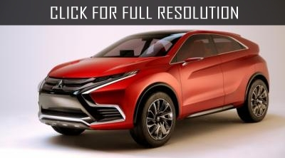 Mitsubishi is testing a new crossover in style XR-PHEV II concept