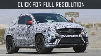Photospies noticed the new Mercedes-Benz GLE