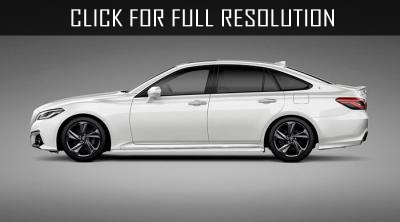 New photos of Toyota Crown appeared on the Net