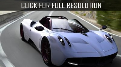 Pagani announced the presentation of Huayra Roadster at the Geneva Motor Show