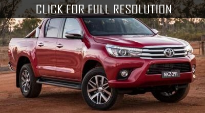 Toyota Hilux remained the leader of sales among pickups in 2016